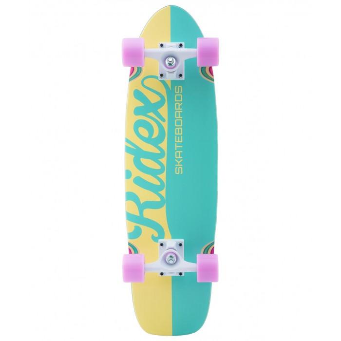 Детский транспорт , Скейтборды Ridex Круизер деревянный Candys 28х8 Abec-7 арт: 570811 -  Скейтборды