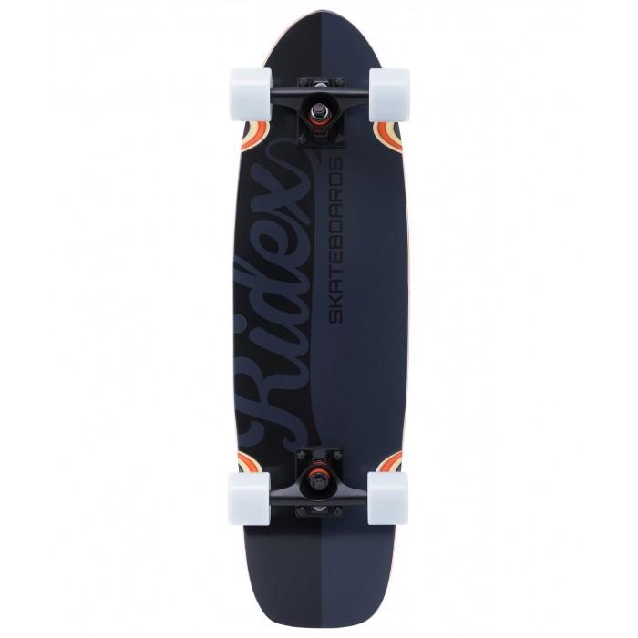 Детский транспорт , Скейтборды Ridex Круизер деревянный Darkside 28х8 Abec-7 арт: 570821 -  Скейтборды