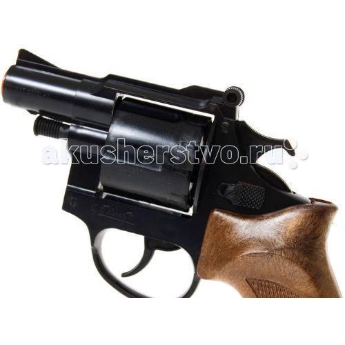 Игрушечное оружие Edison Игрушечный Пистолет Фантом с глушителем 22,1 см