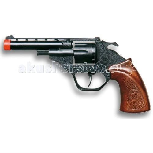 Игрушечное оружие Edison Игрушечный Пистолет Суси 18,5 см пистолет edison giocattoli dakota metall western