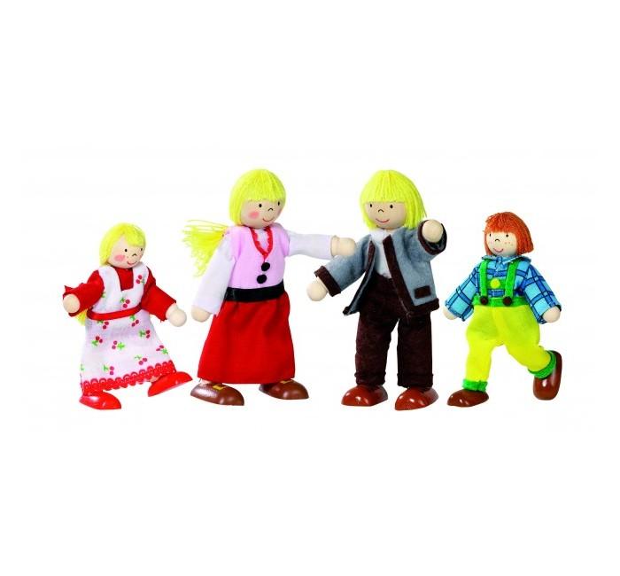 Goki Набор кукол Тирольская семья