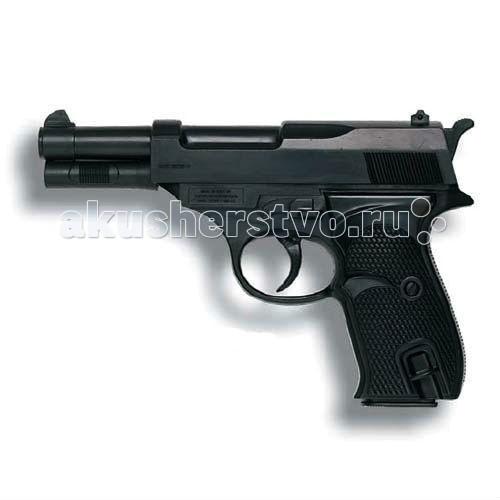 Игрушечное оружие Edison Игрушечный Пистолет Eaglematic 17,5 см edison игрушечный пистолет с пистонами eaglematic серия soft touch 17 5 см