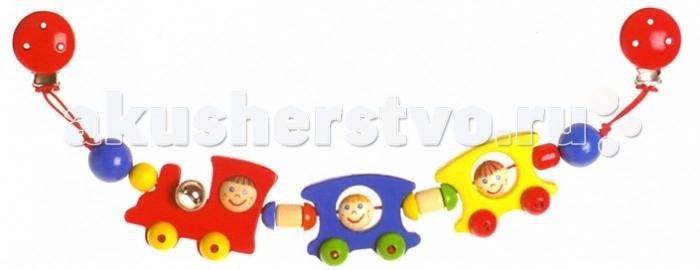 дуги для колясок и автокресел Дуги для колясок и автокресел Heimess Растяжка на коляску Веселый поезд