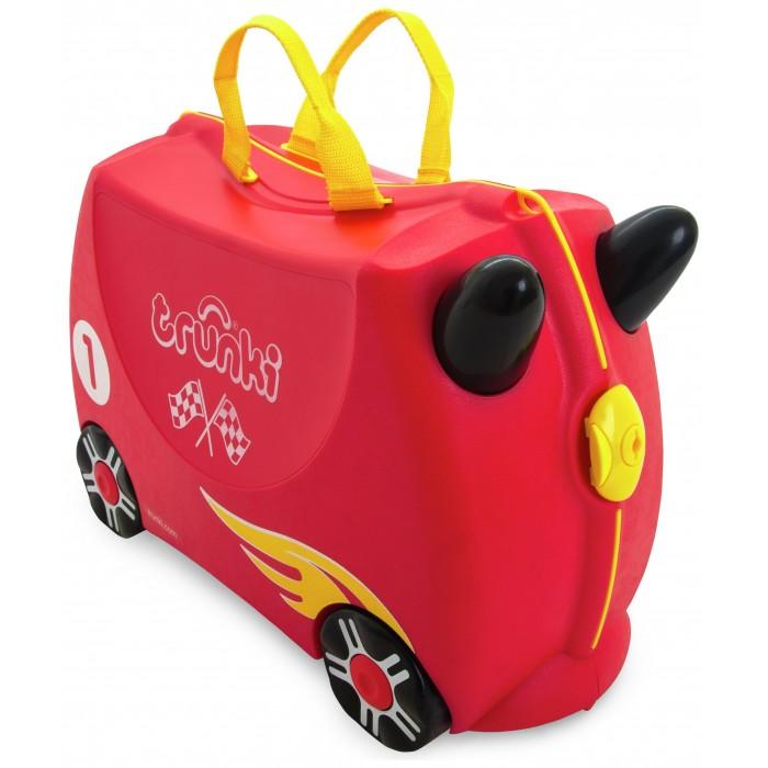 Купить Детские чемоданы, Trunki Чемодан на колесиках Гоночная машинка Рокко