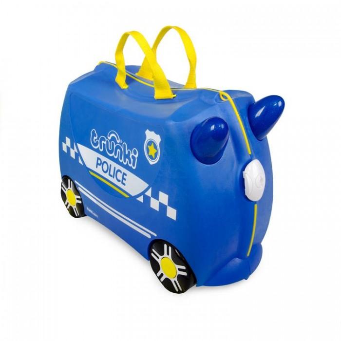 Детские чемоданы Trunki Чемодан на колесиках Полицейская машина Перси, Детские чемоданы - артикул:571586