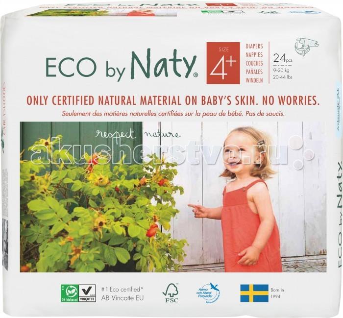 Подгузники Naty Подгузники Размер 4+ (9-20 кг) 25 шт.