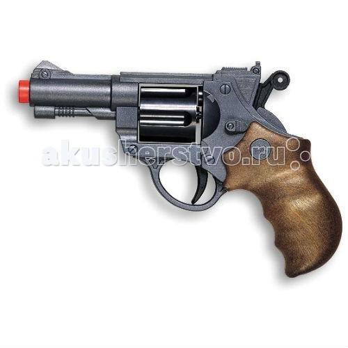 Игрушечное оружие Edison Игрушечный Пистолет с пульками Champions-Line Jeff Watson 19 см пистолет edison с мишенями и пульками western line west colt 28 см пульки