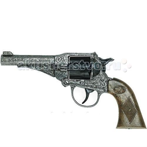 Игрушечное оружие Edison Игрушечный Пистолет Стерлинг 17,5 см пистолет edison giocattoli dakota metall western