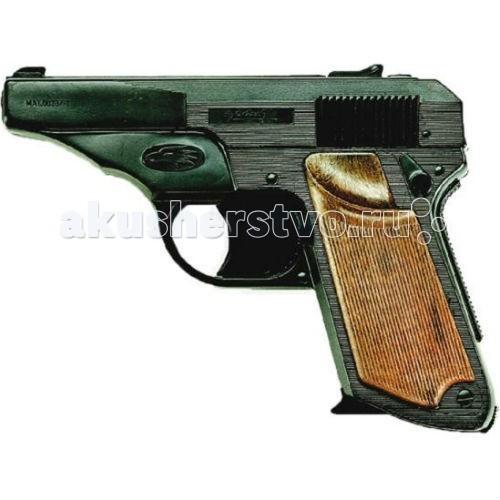 Игрушечное оружие Edison Игрушечный Пистолет Фалькон 14,5 см пистолет edison giocattoli dakota metall western