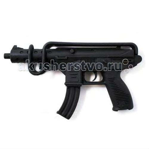 Игрушечное оружие Edison Игрушечный Автомат с пистонами Узиматик Soft Touch 50,5 см 13-зарядный edison игрушечный пистолет с пистонами eaglematic серия soft touch 17 5 см