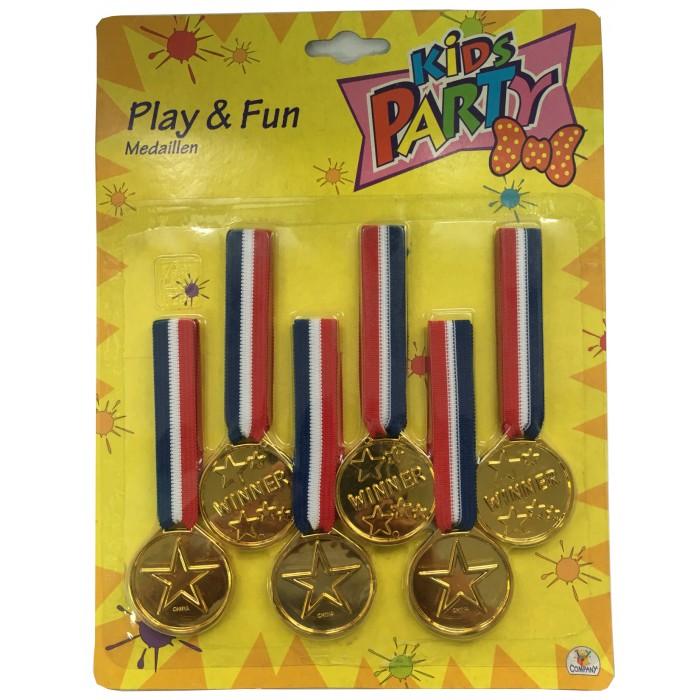 Товары для праздника Bampi Набор медалей