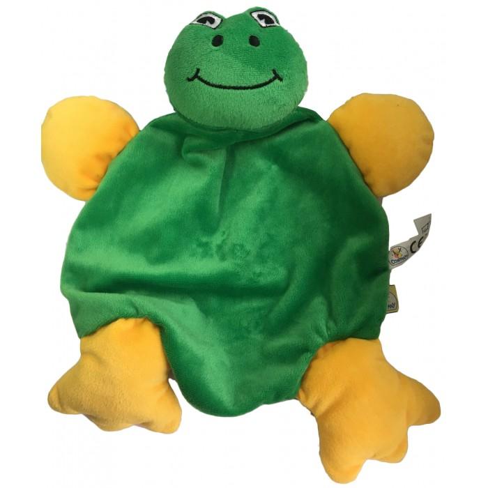 Погремушки Bampi Игрушка на руку Лягушка плюш игрушка