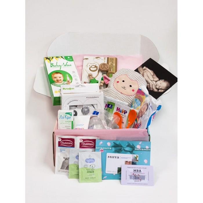 Уход за малышом Kid's Box Набор товаров для девочки Standart 0-3 лет, Уход за малышом - артикул:572706