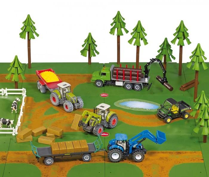 Игровые наборы Siku Игровой набор Грунтовые дороги и леса игровой набор siku набор транспорта и дорожных знаков