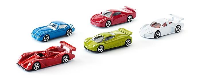 Фото - Машины Siku Набор легковых спортивных машин 5 шт. набор машин siku паром для
