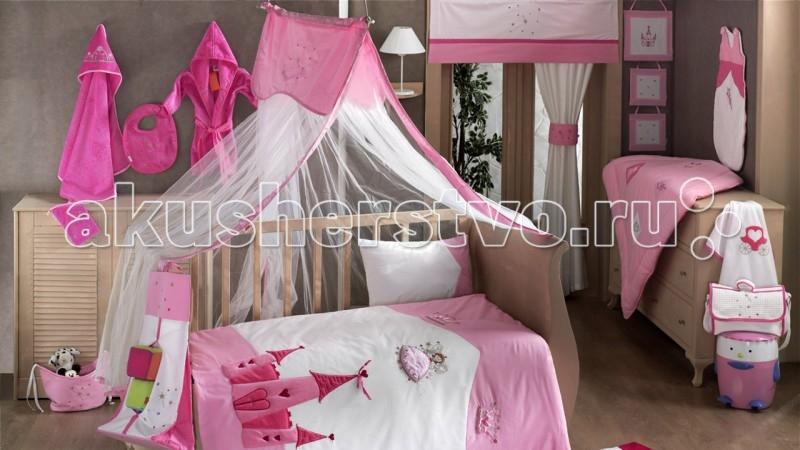 Балдахин для кроватки Kidboo Little PrincessLittle PrincessБалдахин Kidboo Little Princess украсит кроватку Вашего малыша, защитит его от укусов комаров и других насекомых, а также уменьшит попадание света для крепкого и здорового сна.  Подходит для всех стандартных держателей балдахина.  Размер 450х150 см.<br>