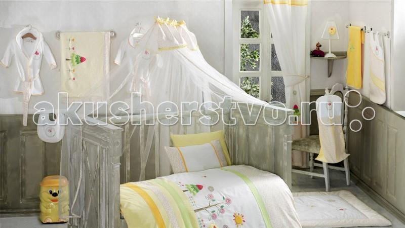 Балдахин для кроватки Kidboo Sunny DaySunny DayБалдахин Kidboo Sunny Day украсит кроватку Вашего малыша, защитит его от укусов комаров и других насекомых, а также уменьшит попадание света для крепкого и здорового сна.  Подходит для всех стандартных держателей балдахина.  Размер 450х150 см.<br>
