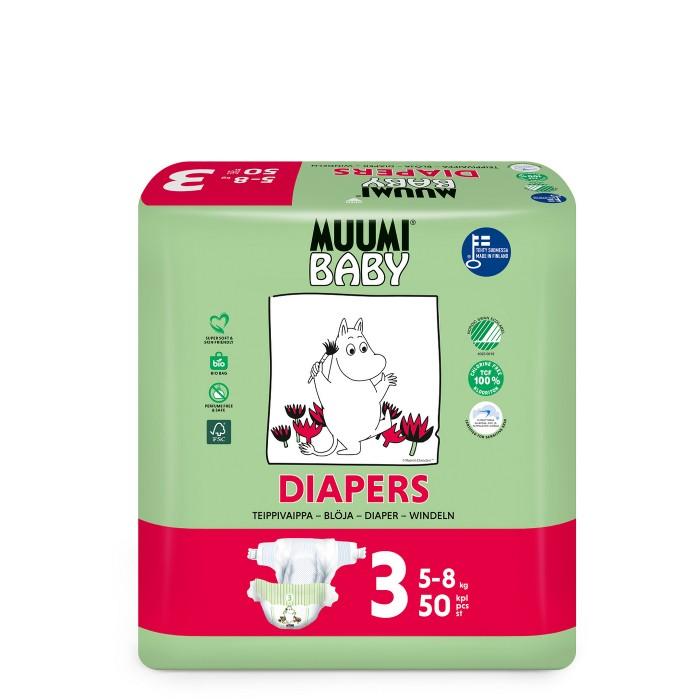 Подгузники Muumi Подгузники Baby (5-8 кг) 50 шт.