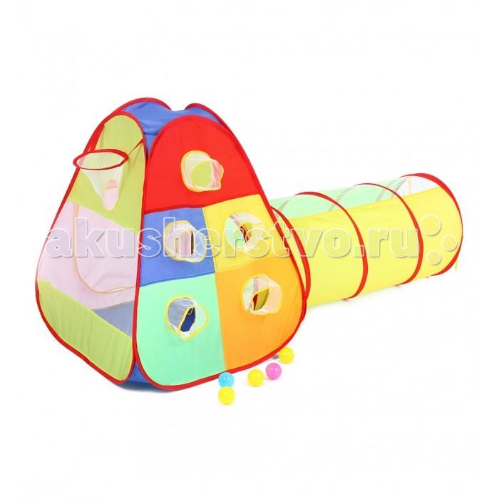 Палатки-домики Bony Домик Кубики с туннелем палатки домики bony игровой домик с шариками пиратский корабль