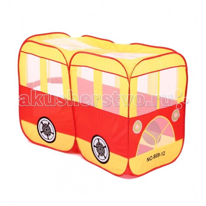 Палатки-домики Bony Домик Автобус палатки домики bony игровой домик с шариками голубая машинка