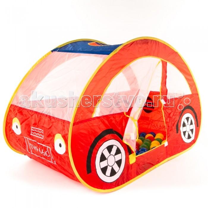 Палатки-домики Bony Домик Автомобиль с шариками палатки домики bony игровой домик с шариками пиратский корабль