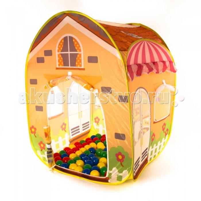 Палатки-домики Bony Летний Домик с шариками палатки домики bony игровой домик с шариками пиратский корабль