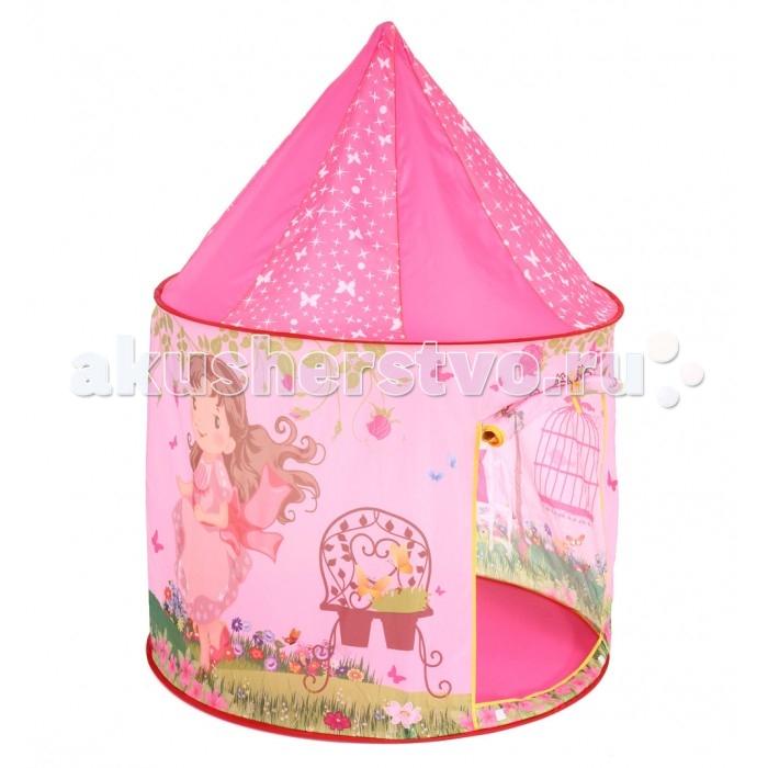 Bony Домик Замок принцессыПалатки-домики<br>Bony Домик Замок принцессы предназначен для игр дома и на природе. Домик защитит от солнца и ветра во время игры на свежем воздухе. Каркас выполнен из пластика.  Палатка занимает мало места в сложенном виде и удобна в хранении и уходе.   Размер: 100х100х135 см