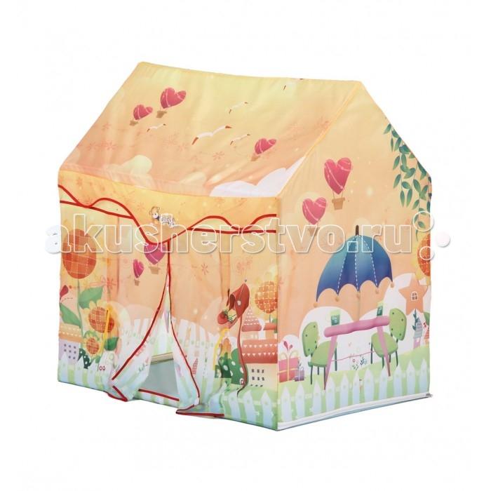 Палатки-домики Bony Домик Радуга палатки домики bony игровой домик с тоннелем бабочки 100 шариков