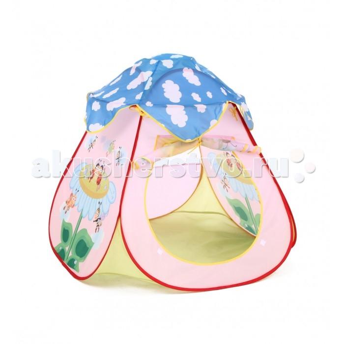 Палатки-домики Bony Домик Ромашка палатки домики bony игровой домик с тоннелем бабочки 100 шариков