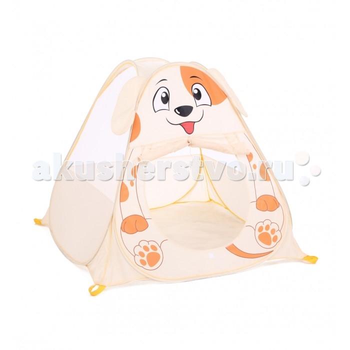 Палатки-домики Bony Домик Собачка палатки домики bony игровой домик с тоннелем бабочки 100 шариков
