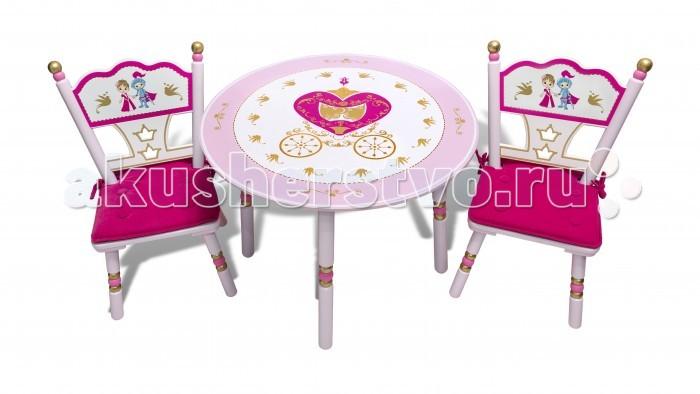Major-Kids Комплект из стола и двух стульев Сказочное царство