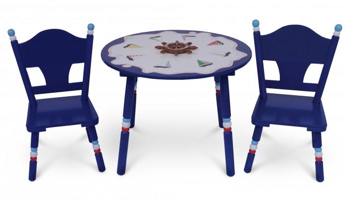 Major-Kids Комплект из стола и двух стульев Маленький Капитан от Major-Kids