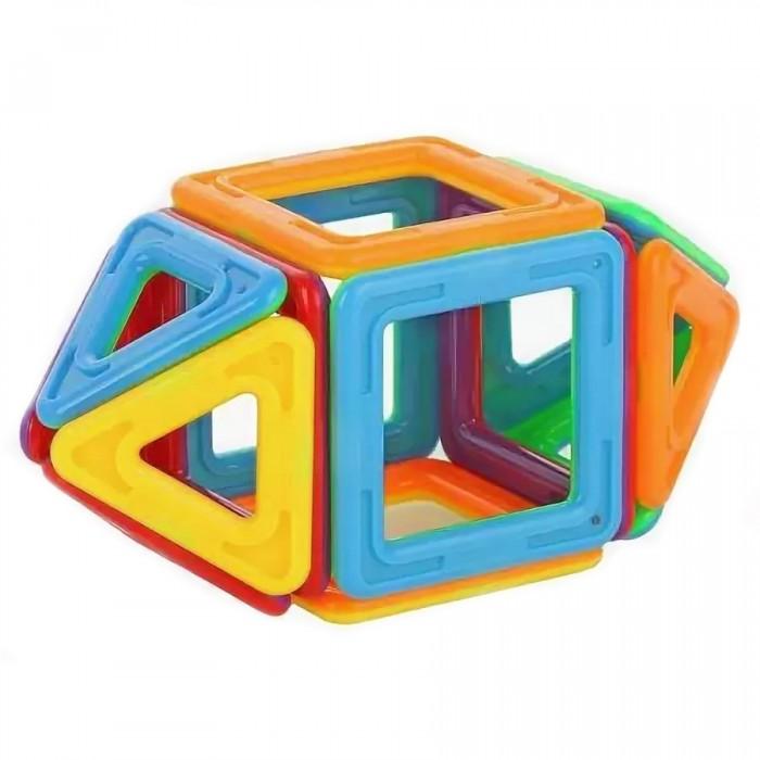 Конструкторы Наша Игрушка магнитный 3D (14 деталей) конструкторы игруша геометрические блоки 18 деталей