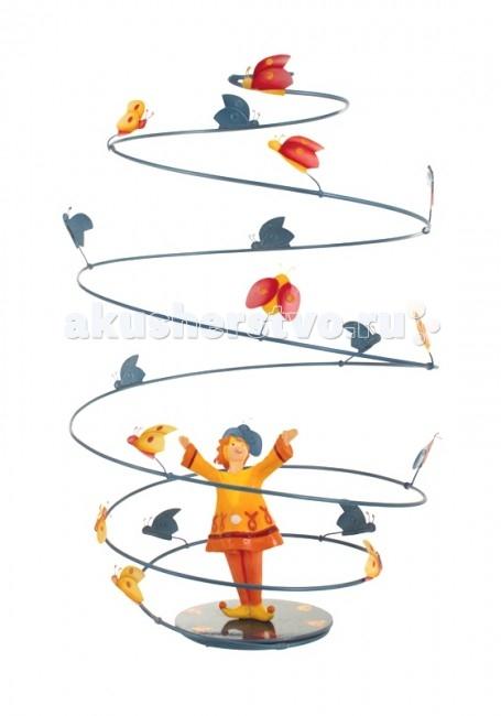 L'oiseau Bateau Spirale Подвесное украшение Божьи коровкиSpirale Подвесное украшение Божьи коровкиSpirale - уникальные подвесные украшения, созданные вручную французскими мастерами фабрики L'oiseau Вateau!   Легкие и воздушные, они привнесут особенный шарм в детскую, наполнят её атмосферой тепла и уюта. Прекрасно впишутся в дизайн любой комнаты, украсив и освежив его.  Подвесное украшение для детских комнат, сделано из металла (сталь)   Размеры: 32.5 см В х 32.5 см Д х 29 см Ш<br>