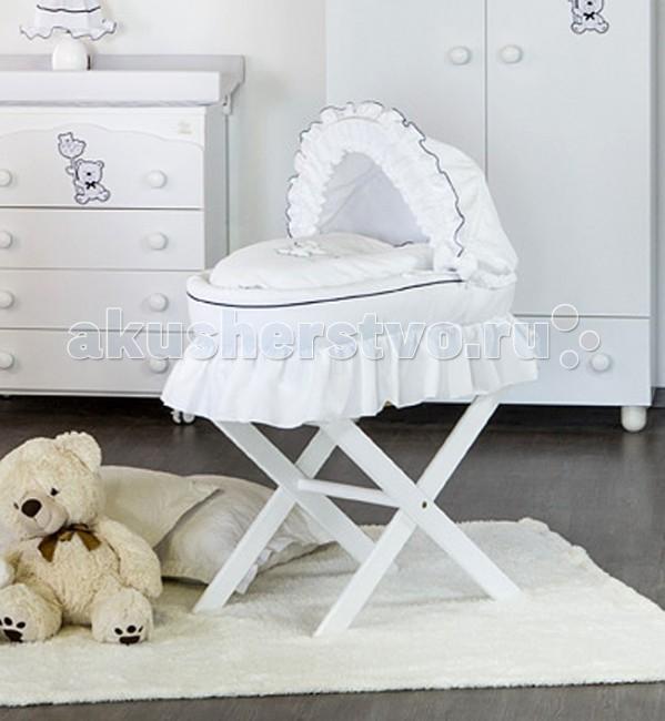 Детская мебель , Колыбели Italbaby люлька-переноска Blue Bear арт: 57485 -  Колыбели