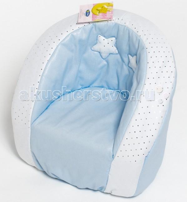 Italbaby Мягкое кресло Polvere Di StelleМягкое кресло Polvere Di StelleДетское кресло Polvere Di Stelle от компании Italbaby невероятно комфортное и стильное.   Оно идеально впишется в интерьер детской комнаты.   Устойчивость кресла обеспечивается широкой площадью соприкосновения с полом, а отсутствие острых углов и твердых деталей делает этот предмет мебели абсолютно безопасным.   Текстиль выполнен из натуральной гипоаллергенной ткани.<br>