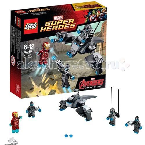 Lego Lego Super Heroes 76029 Лего Супер Герои Железный человек против Альтрона конструктор lego super heroes 76069 mighty micros бэтмен против мотылька убийцы
