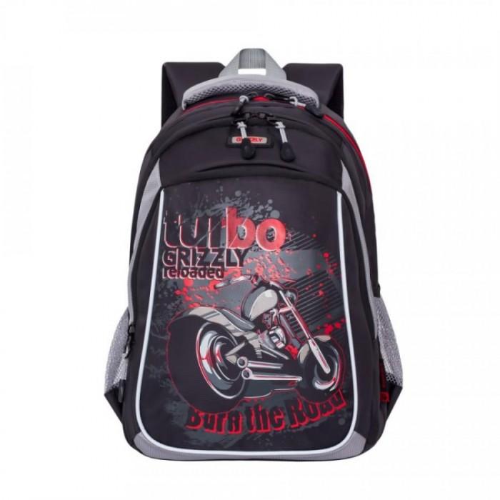Школьные рюкзаки Grizzly Рюкзак школьный RB-860-3 grizzly рюкзак цвет серый оранжевый rb 733 2 4
