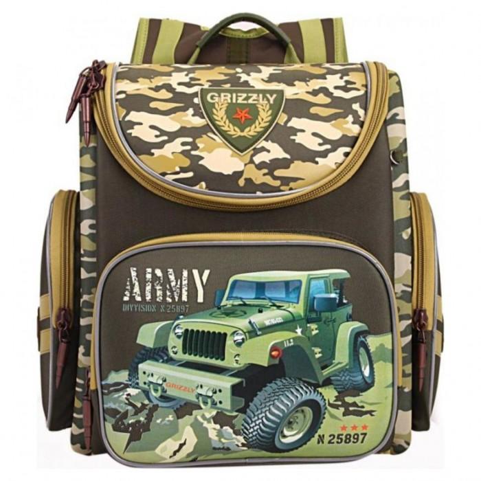 Школьные рюкзаки Grizzly Рюкзак школьный RA-870-3 школьный ранец grizzly school ra 676 ra 676 3 2 черный