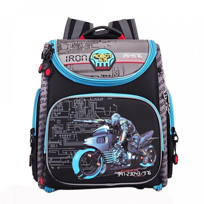 Школьные рюкзаки Grizzly Рюкзак школьный RA-870-5 школьный ранец grizzly school ra 676 ra 676 3 2 черный