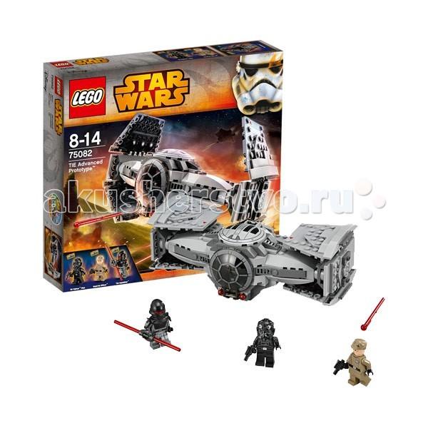 Конструктор Lego Star Wars 75082 Лего Звездные войны Улучшенный Прототип TIE ИстребителяStar Wars 75082 Лего Звездные войны Улучшенный Прототип TIE ИстребителяКонструктор Lego Star Wars 75082 Лего Звездные войны Улучшенный Прототип TIE Истребителя  Является прототипом корабля из популярной киноэпопеи Звездные Войны, принадлежащий ситу-инквизитору. Будучи невероятно быстрым, перехватчик TIE, с успехом ведет бои. Конструкция оснащена 2-я турбинами, толстой броней, ракетной установкой, способной стрелять снарядами. Крылья корабля меняют форму, в соответствии с режимом посадки или полета. В кабину можно попасть через открывающийся люк. При желании, туда можно поместить минифигурку Lego.  3 минифигурки: офицер, пилот, Инквизитор Функциональные ракетницы Способность менять форму крыла Открывающийся люк в кабину пилота.  Количество деталей: 355 шт.<br>