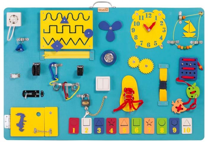 Купить Деревянная игрушка Woodle Бизиборд Премиум односторонний 60х90 в интернет магазине. Цены, фото, описания, характеристики, отзывы, обзоры