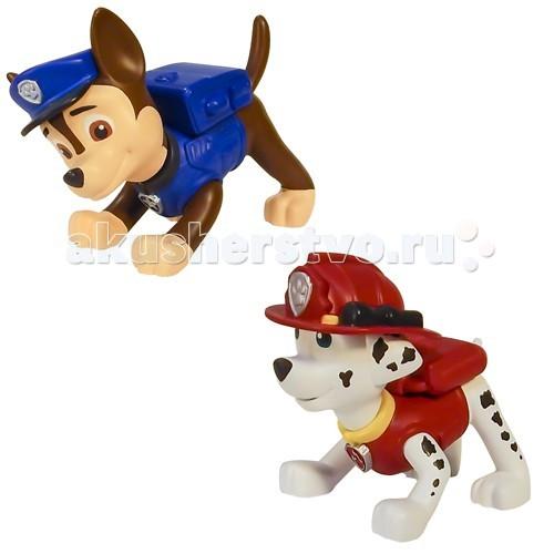 Игровые фигурки Щенячий патруль (Paw Patrol) Маленькая фигурка щенка spin master большой автомобиль спасателей погрузчик рокки щенячий патруль