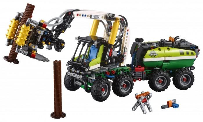 Купить Конструктор Lego Technic 42080 Лего Техник Лесозаготовительная машина