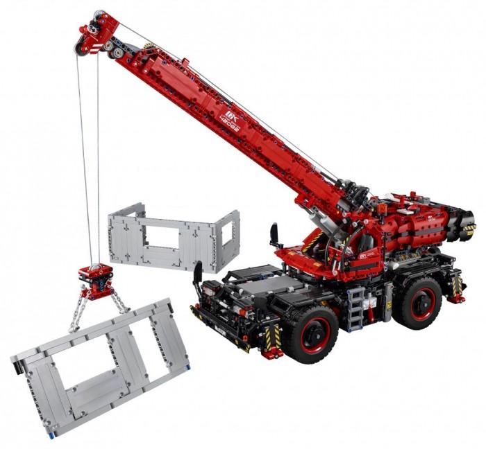 Конструктор Lego Technic 42082 Лего Техник Подъёмный кран для пересечённой местности