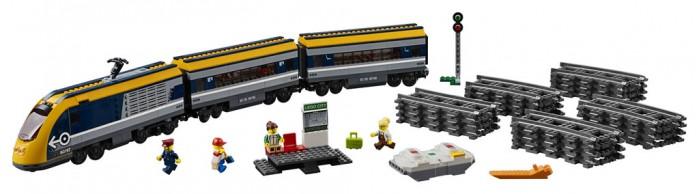 Купить Конструктор Lego City 60197 Лего Город Пассажирский поезд