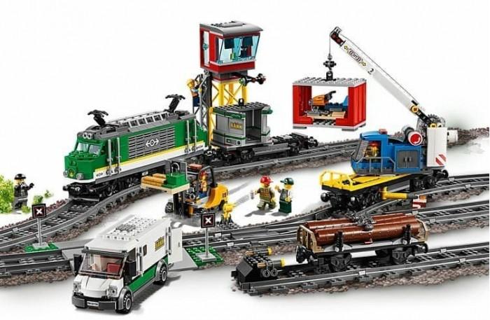 Купить со скидкой Конструктор Lego City 60198 Лего Город Товарный поезд