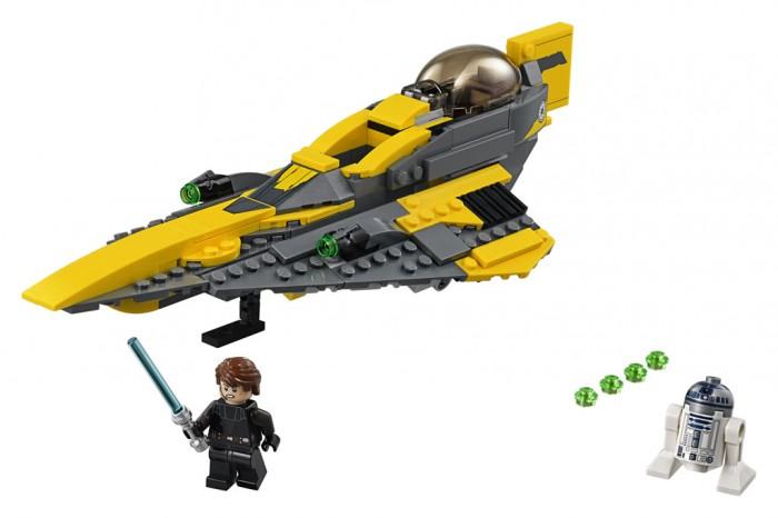 Lego Lego Star Wars 75214 Лего Звездные Войны Звёздный Истребитель Энакина star wars sw00243 звездные войны брелок r2 d2 блистер