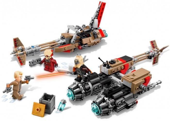 Lego Lego Star Wars 75215 Лего Звездные Войны Звёздный Свуп-байки детское лего decool marvel star wars dc lego bela minecraft