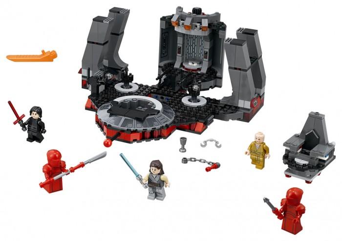 Конструктор Lego Star Wars 75216 Лего Звездные Войны Тронный зал Сноука